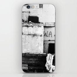 Destroyed - B/W iPhone Skin