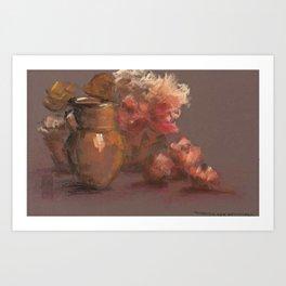 Warm Still Life Composition Art Print