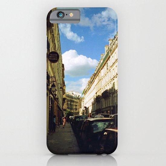Paris in 35mm Film: Rue Malher in Le Marais iPhone & iPod Case