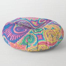 Goniochromism Floor Pillow