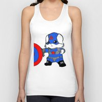 avenger Tank Tops featuring Avenger Dog by Rocky Moose