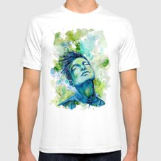 Dash by carographic, Carolyn Mielke SMALL White Mens Fitted Tee