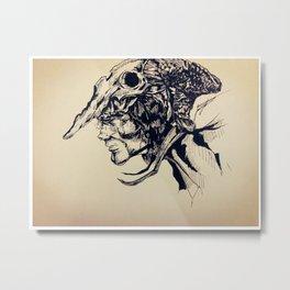 """""""The Hunt"""" Metal Print"""