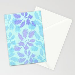 palm leaves in the shade Stationery Cards