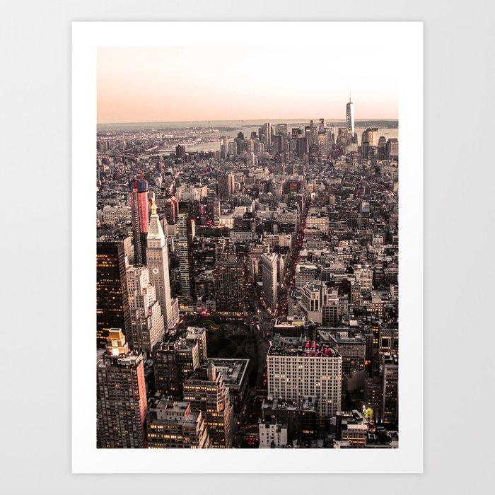 New York City USA Photography ArtWork Art Print