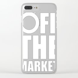OFF THE MARKET Clear iPhone Case