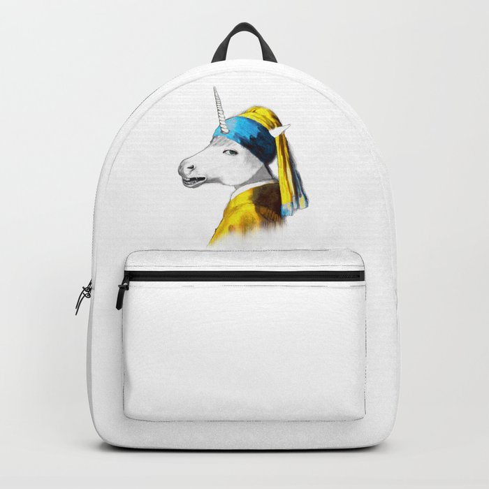 Cool Animal Art - Funny Unicorn Backpack
