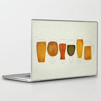 beer Laptop & iPad Skins featuring Beer by Cat Coquillette