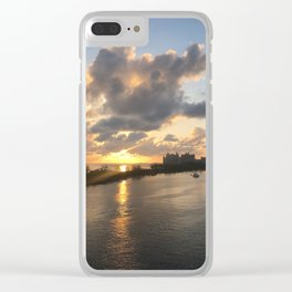 somewhere in the bahamas Clear iPhone Case