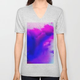 Abstract Bliss 1 by kathy Morton Stanion Unisex V-Neck