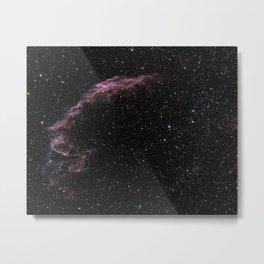 Veil Nebula 3 Metal Print
