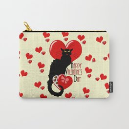 Le Chat Noir with Chocolate Candy Gift Carry-All Pouch
