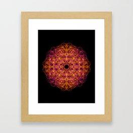 Royal Flames  Framed Art Print