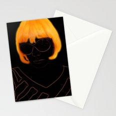 Elly Orange Stationery Cards
