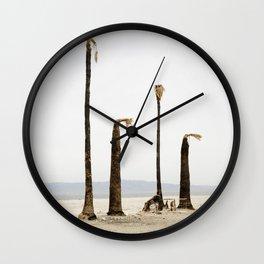 The Last Four Wall Clock
