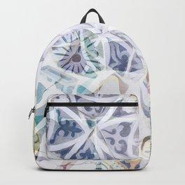Mosaic of Barcelona IX Backpack