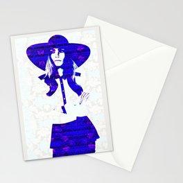 Cara Delevigne: Wide Brimmed Hat Stationery Cards
