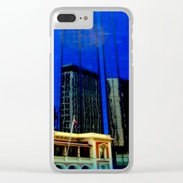 Reflections - Adelaide CBD Clear iPhone Case