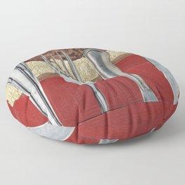 Silver & Gold Floor Pillow