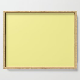 Simply Pastel Yellow Serving Tray