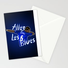 Allez Les Blues Stationery Cards