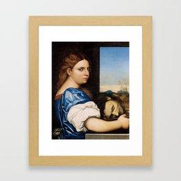 Salome - Sebastiano del Piombo Framed Art Print