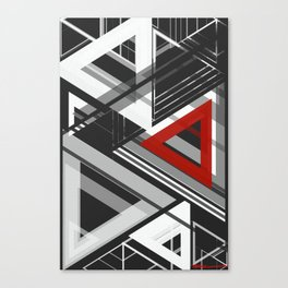 geometric abstract no.5 Canvas Print