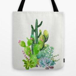 Cactus Garden II Tote Bag