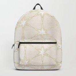 Celestial Pearl Gilded Stars Backpack