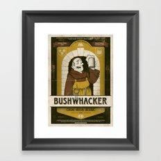 Classic Posters. Bushwacker Framed Art Print