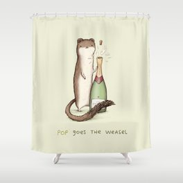 Pop Goes the Weasel Shower Curtain