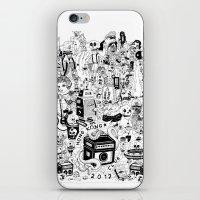 hong kong iPhone & iPod Skins featuring HONG KONG CLUB by ALVAREZ
