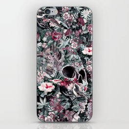 Skull Forest iPhone Skin