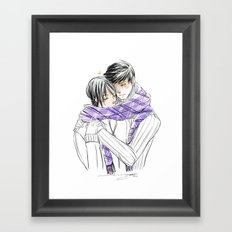 Magnus & Alec Framed Art Print