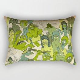 Party Hardy Rectangular Pillow