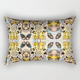 Battle Axe Cat Worship Rectangular Pillow