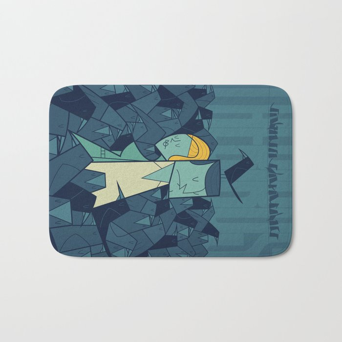 The Birds Bath Mat