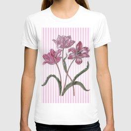Maria Sibylla Merian: Three Tulips T-shirt