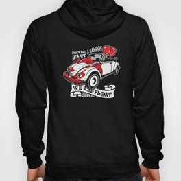 Scary Clown Car, Inspired By The Horror Movie IT Hoody