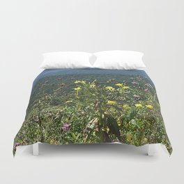Wildflowers in the Blue Ridge Duvet Cover