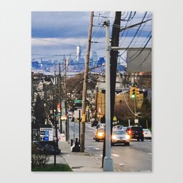 Victory Boulevard Canvas Print