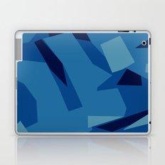 Peckham Blue Abstract Map Laptop & iPad Skin