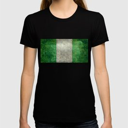 National flag of Nigeria, Vintage textured version T-shirt