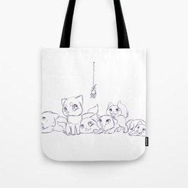 Cat's Tote Bag