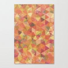 Triangle Pattern III Canvas Print
