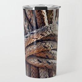Nautical Knots Travel Mug