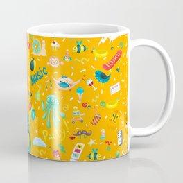 Party monsters (yellow) Coffee Mug