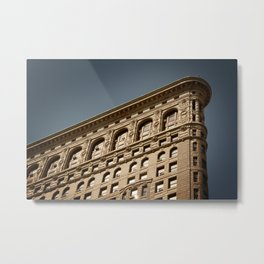 Flat Iron Building, Manhattan, New York City Metal Print