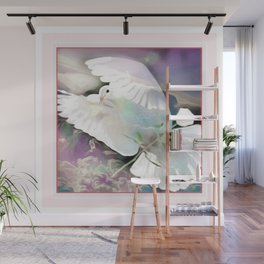 Bird Models: Majestic  Dove 01-10 Wall Mural