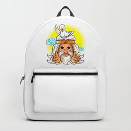 Cute Dove and Peace Sign Noah Hippie Gift Idea Backpack